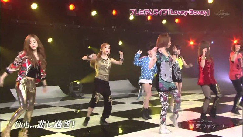 [Full HD Live]T-ARA - Lovey-Dovey (Japanese Ver.) (Jun 22,12)