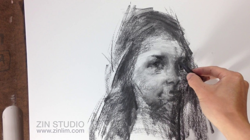 Portrait in charcoal (12).
