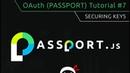 OAuth Tutorial 7 Securing Keys