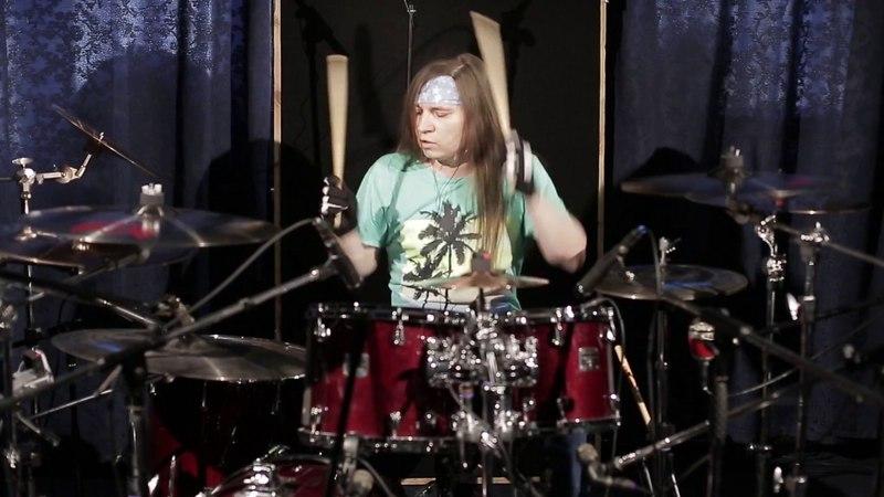 Bon Jovi Born To Be My Baby drumcover by Ilya Zhukov