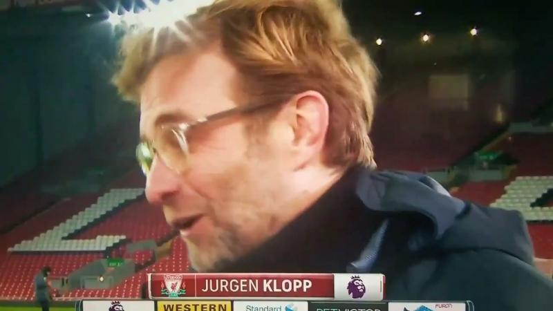 Jurgen Klopp live on US TV