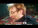 Jurgen Klopp live on US TV....