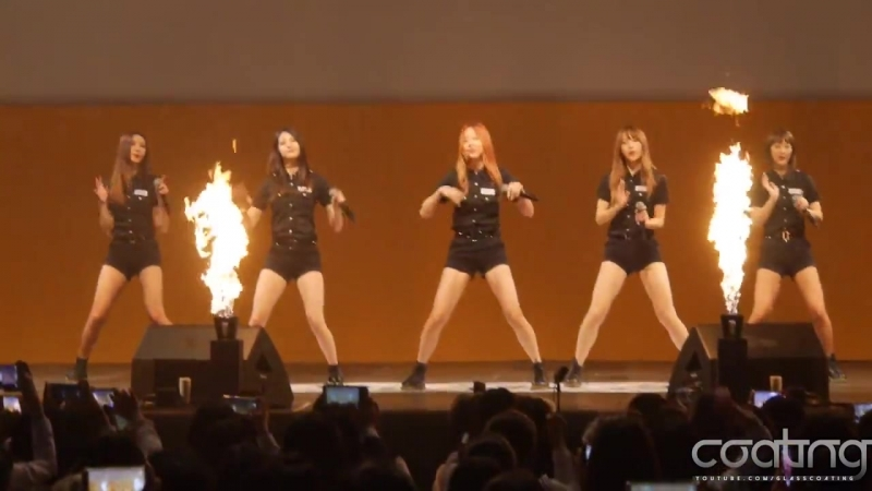 [FANCAM] EXID - UpDown 151020 On Dream School