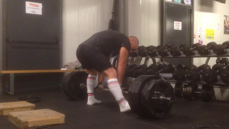 Stanovaya tyaga 260 kg na 4 raza