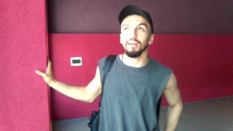 Батраз Засеев. Педагог по сценическому движению