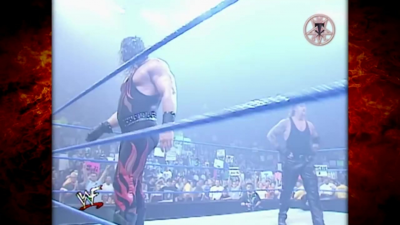 The Undertaker Kane vs Steven Richards, Bull Buchanan Smackdown 04.05.2001