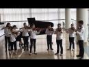 Пьяццолла «Обливион», Караев «Танец». Ансамбль скрипачей и виолончелистов.