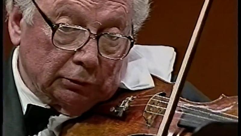 J.S.Bach Violin Concerto No.1 BWV.1041 Stern Orchestra (1996 Movie Live)