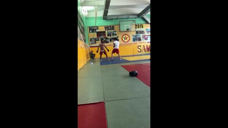Тренировка Кямран Аббасова