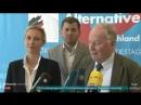AfD - Alexander Gauland Alice Weidel- Wir sehen Neuwahlen gelassen entgegen