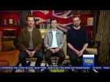 Бенедикт Камбербэтч, Том Холланд и Том Хиддлстон на  Доброе утро, Америка    Война Бесконечности