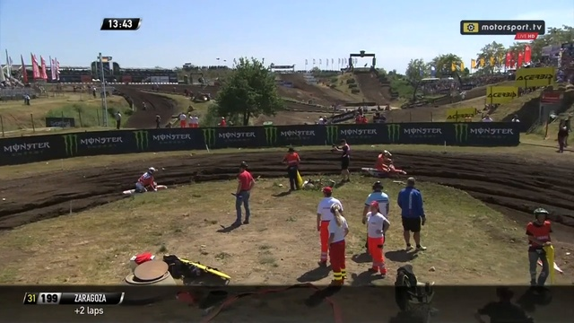 2018 FIM MXGP of Germany Rd 8, MX2 Race 1