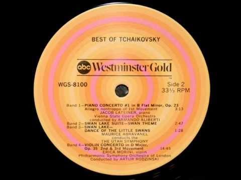 Tchaikovsky / Erica Morini, 1957: Violin Concerto in D major, Op. 35 - (2, 3) - Artur Rodzinski