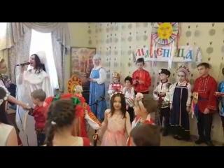 Ксения Земляникина и вокальный ансамбль Хрустальная капель