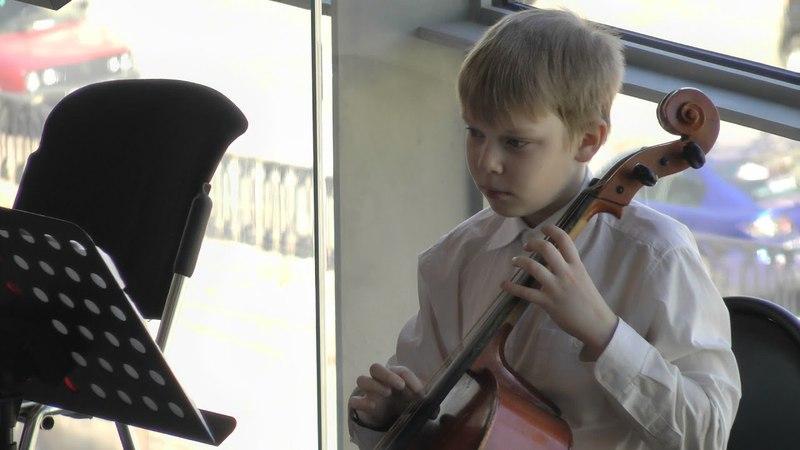 Г.Ф. Телеман. Largo для флейты и струнных. Исп. оркестр ДМШ им. А.К. Глазунова