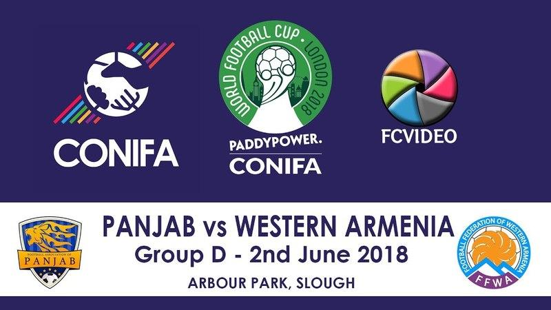 CONIFA World Football Cup - Panjab v Western Armenia