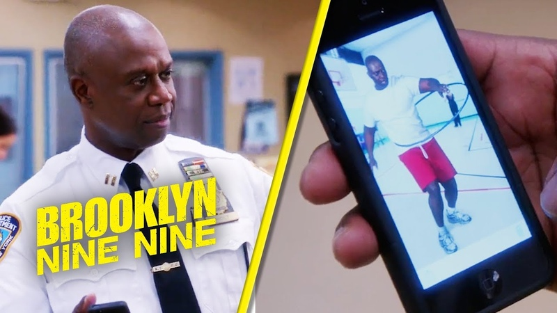 Holt Hula Hooping | Brooklyn Nine-Nine