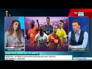 Spor Sabahı 31 Mart 2018 Tek Parça Fenerbahçe, Galatasaray, Beşiktaş Yorumları