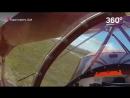 Пилот запустил двигатель за миг до столкновения