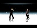 MMD танец Лью Вудс и Blade creepypasta