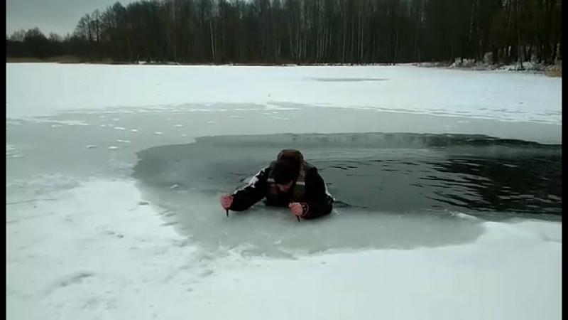 Зимние тренировки Гродненского ОСВОДа