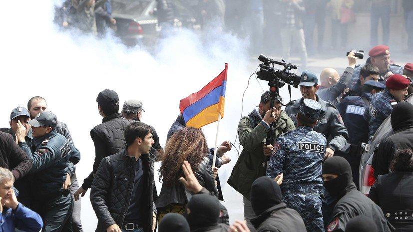 Минобороны Армении отреагировало на митинги в Ереване