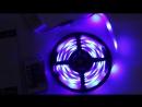 Разноцветные или одноцветные ленты светодиодные пульт управления длина 5м
