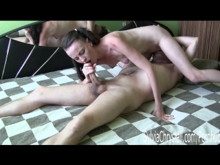 "[clips4sale] sylvia chrystal - ""xxx ray mirror"" 69 slurpy blowjob and pussy eating"