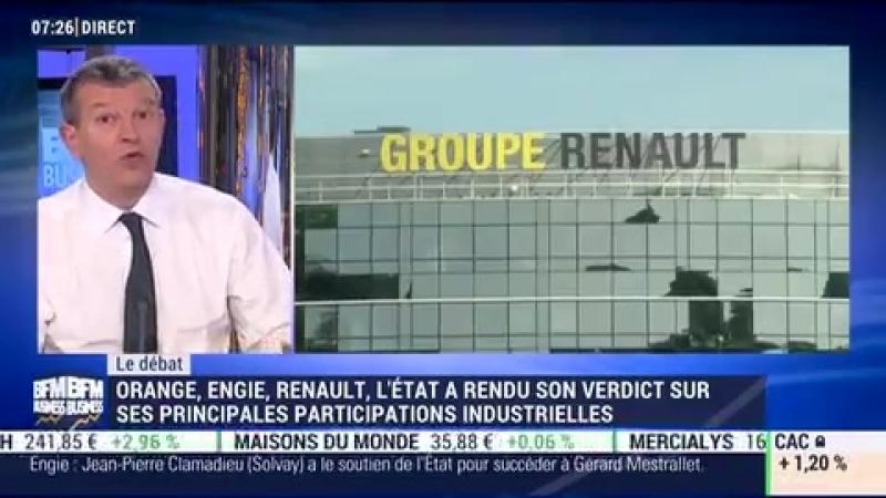 Nicolas Doze VS Jean-Marc Daniel Quid du capitalisme dEtat en ce début dannée - 13-02_BFM Business_2018_02_13_07_32
