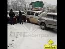 Владивосток ДТП на Шилкинской, выезд с Тунгусской