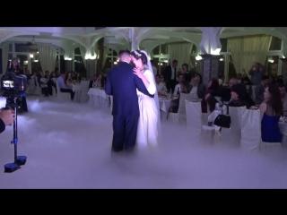Танец жениха и невесты, (свадьба племянницы), Крым, Симферополь, ресторан