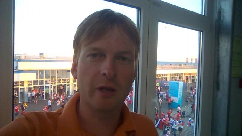 Иван Жидков перед матчем Россия – Хорватия