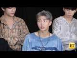[VIDEO] BTS on Dating and What True Love Means to Them Daily Denny EXCLUSIVE