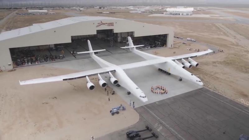 Stratolaunch летающая пусковая платформа