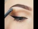 Классный макияж со стрелками ☺🖤💎