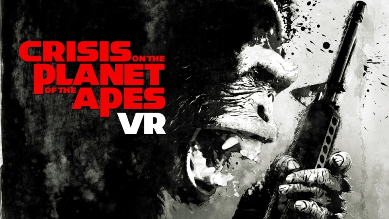 PSVR Crisis on the Planet of the Apes VR GAMECLUB Хабаровск