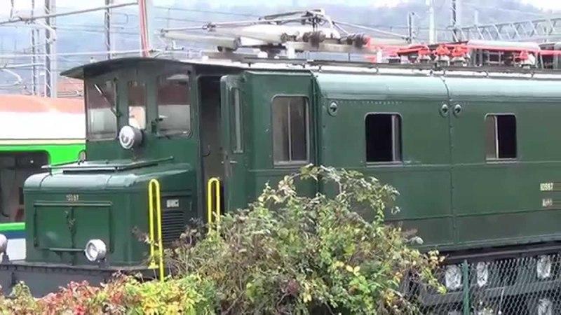 Porte Aperte Verbano Express 2014 a bordo della carrozza serie 940 FNM ex Sbb