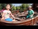 Yağmur ve Ayaz ile Sazova Parkı'na Gittik Dev Korsan Gemisi'ni Gezdik