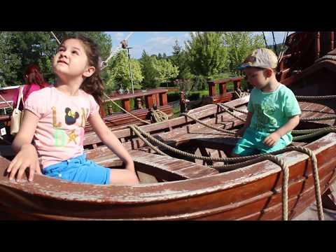 Yağmur ve Ayaz ile Sazova Parkına Gittik Dev Korsan Gemisini Gezdik