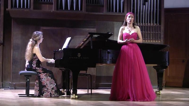 Joaquin Rodrigo, Con que la lavare. Исп. Т.Барсукова (сопрано), Н.Белькова (фортепиано)