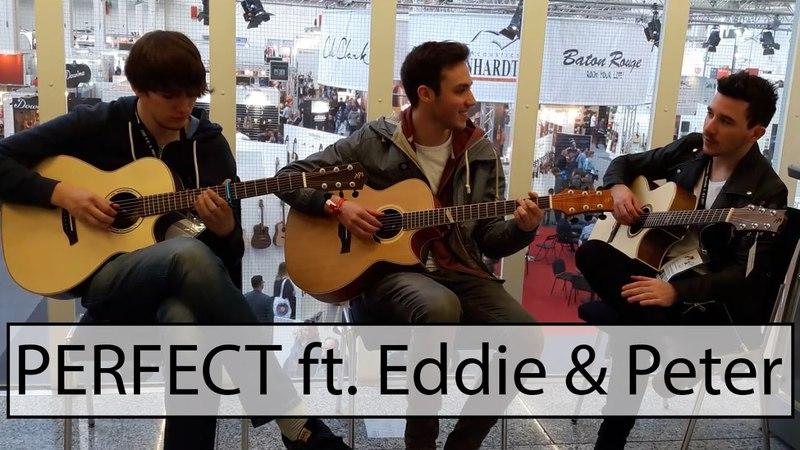 Perfect (Fingerstyle Guitar Cover) w/ Eddie van der Meer Peter Gergely
