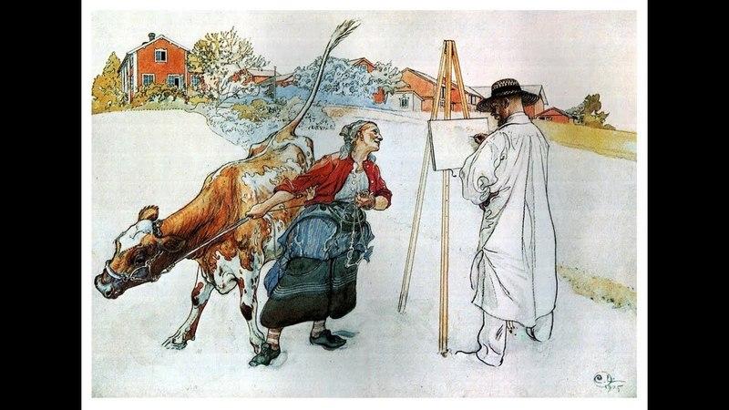 Скандинавский стиль – это красиво. Художник Carl Olof Larsson