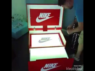 Shoe Box with Led