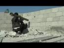Сирийский боевик уничтожает танк Т-72 выстрелом из РПГ-29 «Вампир»