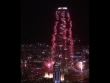 Новогоднее лазерное шоу в Дубае попало в книгу рекордов Гиннесса