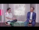 Сэм Хьюэн и Джош Хоровиц на MTV