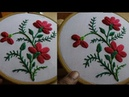 Hand Embroidery Buttonhole Stitch by Amma Arts