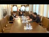 Глава региона провел рабочую встречу с Валерием Хоревым