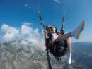 Параплан 1700 метров над уровнем моря