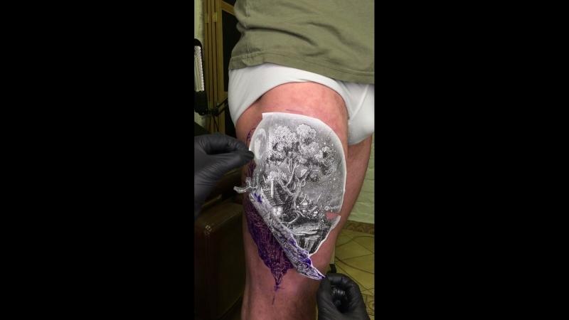 Детализация в татуировке